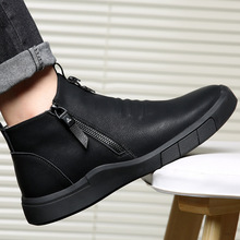 men shoes designer Genuine Leather 100%wool lining winter super Keep warm outdoor Ankle Boots Snow Boots Casual Sneakers789