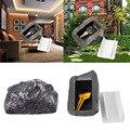 Открытый запасной ключ дом безопасную систему Скрытая скрыть коробка для хранения безопасности рок-н-футляр с камнями коробка