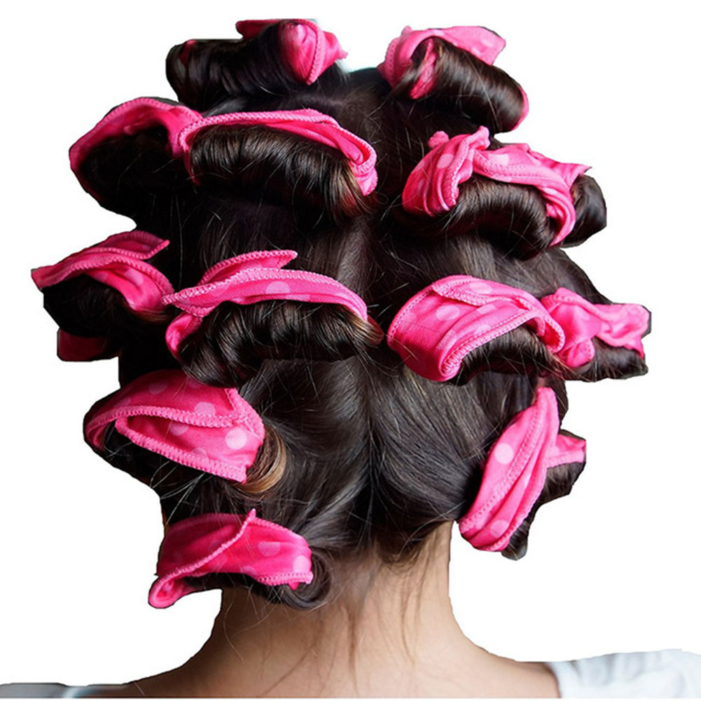 6PCS/Set Magic Sponge Pillow Soft Roller Hair Best Flexible Foam And Sponge Hair Curlers DIY Styling Hair Rollers Tool