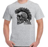 Rock School Mens Funny Skull Punk Rock T Shirt Music Guitar Biker 2019 hot tees 100% cotton tee shirt, tops wholesale tee