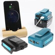 USB כוח טעינת מתאם ממיר עבור מקיטה ADP05 14 18V ליתיום סוללה חדש
