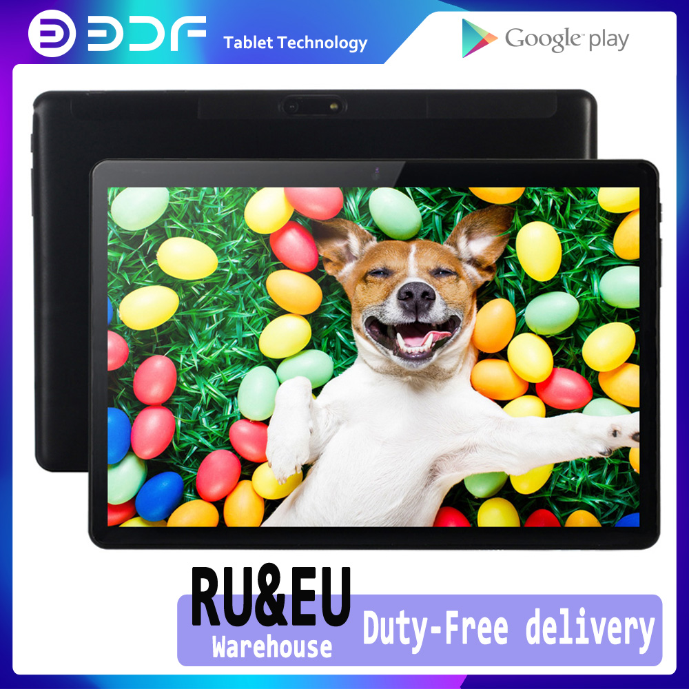 10.1 Inch Android 7.0 3G Phone Call Dual SIM Card GPS Tablet PC Google Play Tab WiFi IPS 10 Inch Kids Phablets Bluetooth OTG Tab