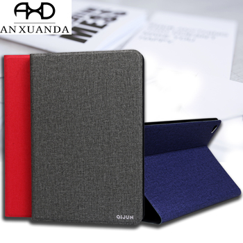 For Samsung Galaxy Tab A 9.7 inch SM T550 T555 QIJUN Case for galaxy SM-T550 9.7 Case Slim Flip Cover Soft Protective Shell image