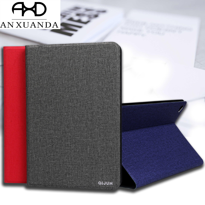 Voor lenovo tab 3 7.0 inch 710 Essentiële QIJUN Tablet Case voor lenovo tab3 710L TB3-710F Slim Flip Cover Zachte Beschermende Fundas
