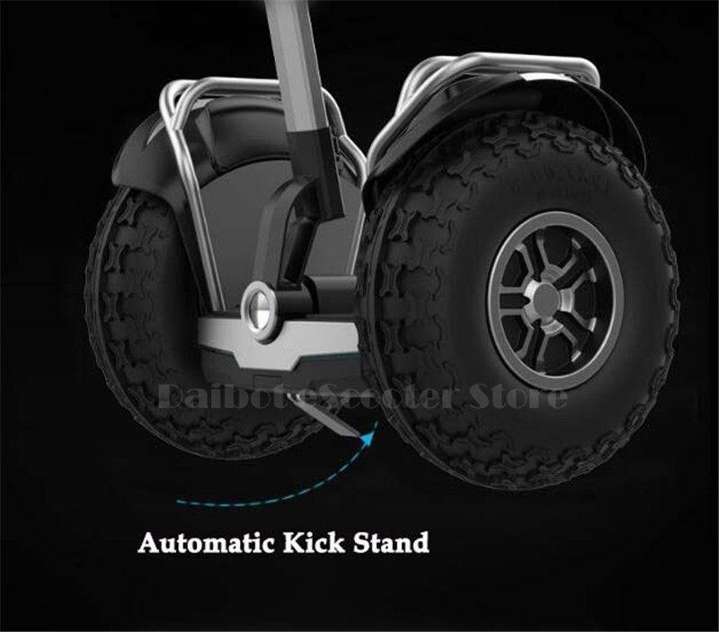 19 inch big tire hoverboard 2 wheels scooter High Power Electric self balancing scooter adjustable hover board skateboard (9)