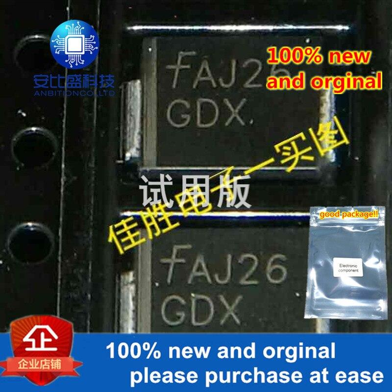 50pcs 100% New And Orginal SMCJ10A DO214AB Silk-screen GDX  In Stock