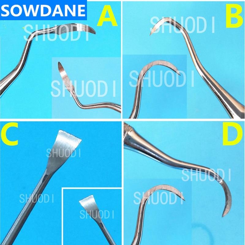 Dental Oral Care Teeth Scaler Cleaning Periodontal Gracey Curette Curettes Bone Curettes Perio Scale