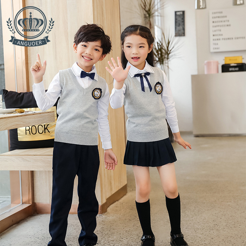 [Ann Fruit] Kindergarten Suit Autumn And Winter New Style Chorus Costume England College Style Young STUDENT'S School Uniform