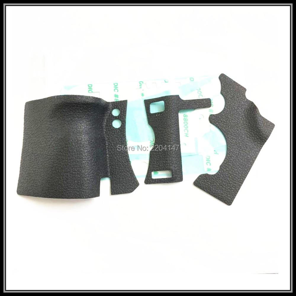 New Original Bady Rubber (Grip+left Side+thumb) For Canon EOS 5D Mark II ; 5DII 5D2  SLR(With Adhesiv