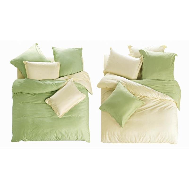 Bedding Set полутораспальный СайлиД, L, white/green bedding set полутораспальный сайлид red flowers