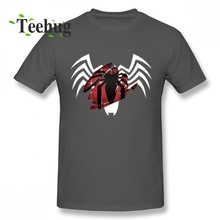 Mans Venom Park Carnage Symbiote Badass Villain Anti-hero Artsy T shirt Leisure Unique For Male 100% Cotton Shirt Plus size