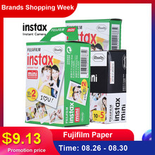 Fujifilm Instax Mini Film Paper 10-100 Sheet for Fujifilm Instax Mini 7s 8 25 90 9 Instax Camera Mini 8 9 Film With Photo Album(China)