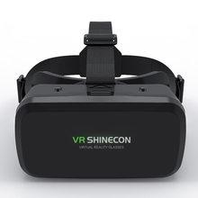 Vr óculos de realidade virtual 3d caixa para jogos de filme vr fone de ouvido capacete para ios android smartphone binóculos com bluetooth rocker