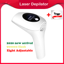 Épilateur Laser professionnel indolore pour femmes, écran LCD, photoépilateur pour une épilation sans douleur, 900000 000 flashs