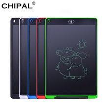 Chipal 12 Inch Lcd Schrijven Tablet Digitale Grafische Tablets Elektronische Handschrift Tekening Pad Verf Boord Notepad + Pen/Batterij