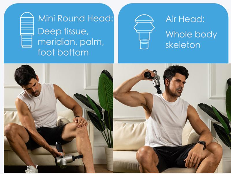 EMS Professional Deep Tissue Muscle Massage Gun 7