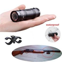 Camcorder Mini Video Perekam untuk Outdoor Berburu Logam Helm Kamera FHD 1080P Torch Gun Kepala Kamera Cam Peluru DV perekam