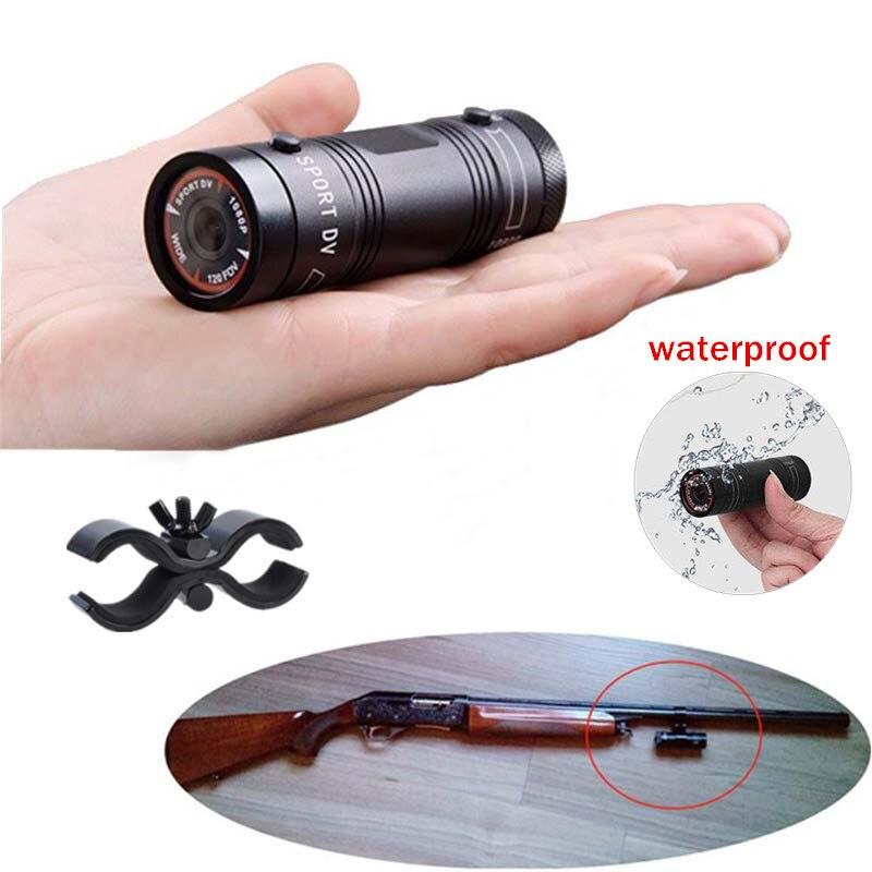 filmadora mini gravador de video para a caca ao ar livre capacete de metal camera fhd