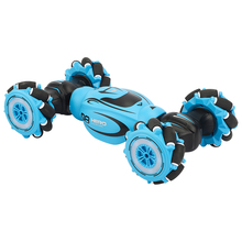D876 1:16 4WD Radio Gesture Induction Music Light Remote Control Twist  High Speed RC Car Stunt off Road Drift Vehicle Model