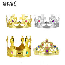 ชุด 4 Royal King Crowns และ Queen Princess Tiara อัญมณี(China)