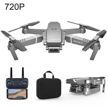 New E68 Drone Helicopter 2.4GHz HD 4K 1080/720P Camera WIFI FPV Wide Angle Hight Hold Mode RC Foldable Quadcopter Kids Toys Gift image
