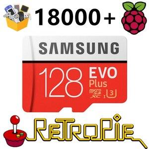 Image 1 - RetroPie – carte SD 128 go pour Raspberry Pi 3 B + 18000 + jeux, 30 + systèmes, Diyable, Station démulation, jeux préinstallés, Plug & Play