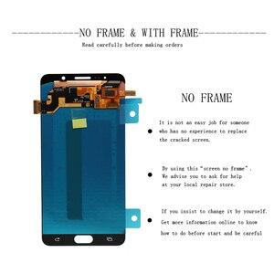 Image 3 - 5,7 100% Оригинальный ЖК дисплей для SAMSUNG Galaxy Note 5, ЖК дисплей с сенсорным экраном для SAMSUNG Note 5 Note5 N920A N9200 SM N920 N920C