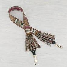 112cm Vintage gland sac sangle pour bandoulière sacs à bandoulière accesorios sac à main ceinture sac poignée remplacement sangle pour sac STP212