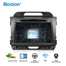 Bosion 4G 64G أندرويد 10.0 2 الدين سيارة مشغل وسائط متعددة مشغل أسطوانات للسيارة لكيا سبورتاج 2011 2012 2013 2014 2015 محرك السيارة لتحديد المواقع والملاحة