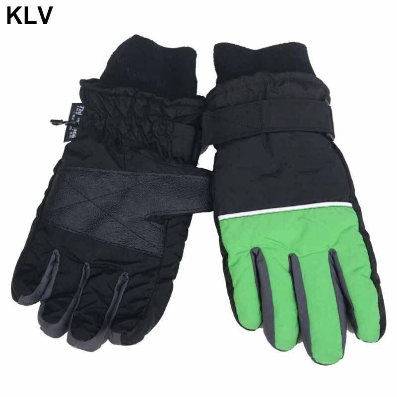 Kids Winter Warm Gloves Windproof For Children Boys Girls Ski Cycling Climbing Outdoor Mitten Waterproof