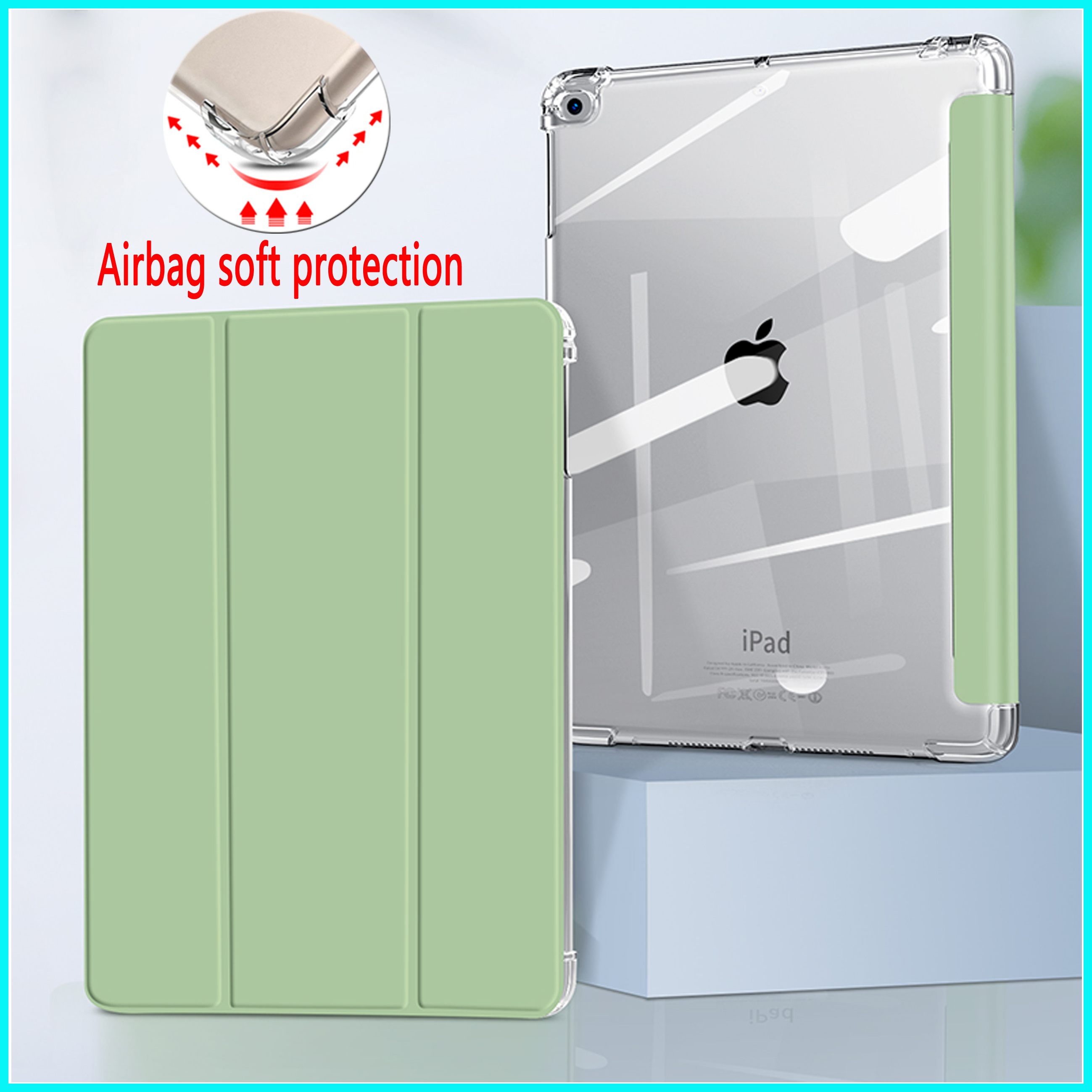 Airbag transparent soft protection Case For iPad New 2020 Air 4 10.9 inch Cover Case