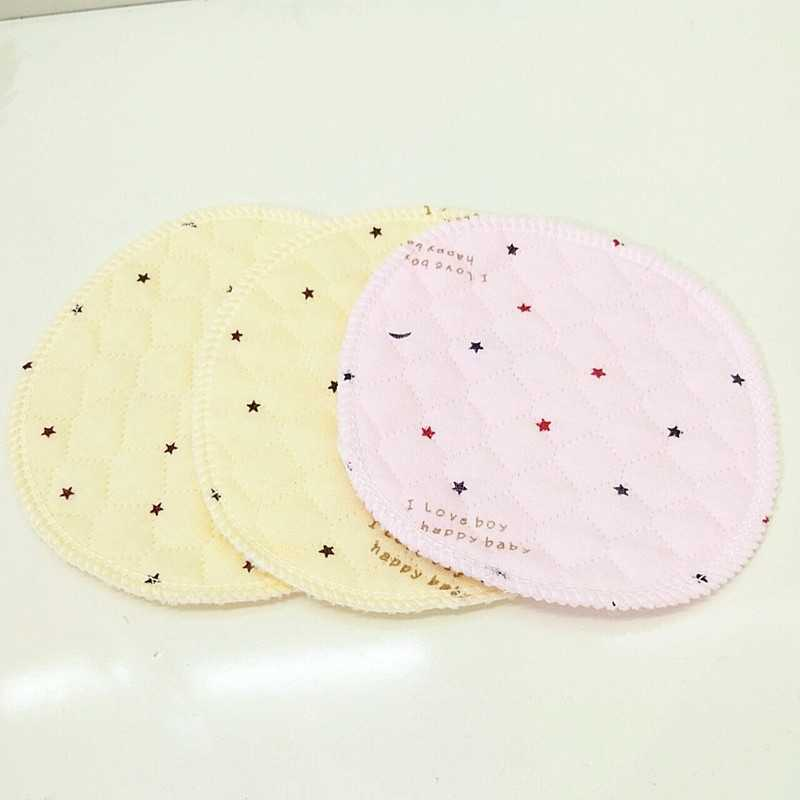 2Pcs Reusable Breast Pad Nursing Pads for Mum Mothers  Absorbent Washable Waterproof Feeding Nipple Pads Pregnant Supplies