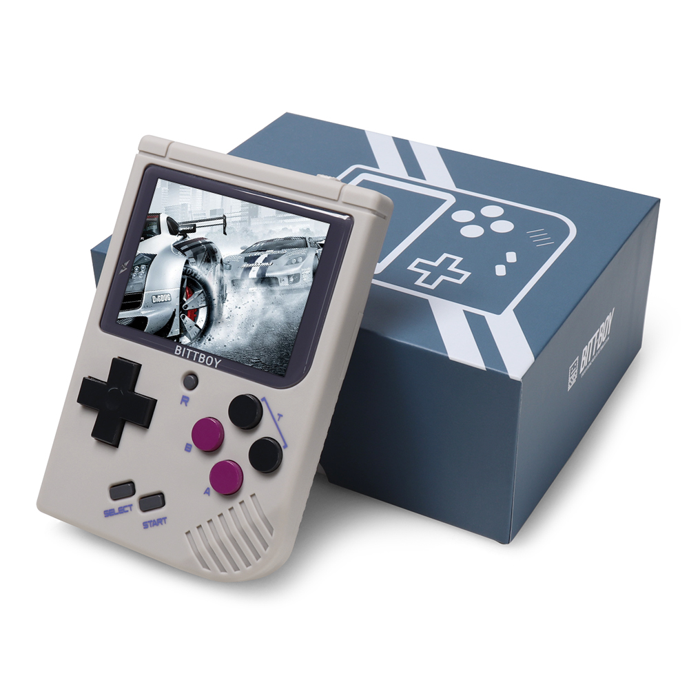 Video Game Console New BittBoy - Version3.5 - Retro Game Handheld Games Console Player Progress Save/Load MicroSD card External 3
