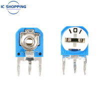 RM063 Multiturn Potentiometer 103 102 101 104 202 100R 200R 500R 1K 2K 3K 5K 10K 20K 50K 100K 200K 500K 1M Adjustable Resistors