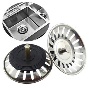 Stopper Bathroom Kitchen Supplies Lavabo Hot Sale Stainless Steel Sink Filter Kitchen Hair Catcher Sink Strainer 1PC Popular