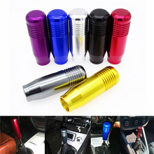 1 Pcs Universal Car Aluminum Manual Gear Shift Knob 8 Color Stick Manual Transmission Gearstick Lever Shifter Knob