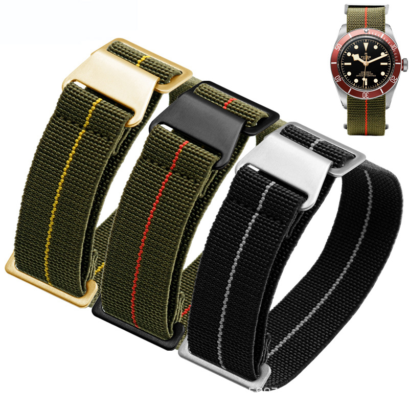 20mm 22mm French Troops  For Nato Nylon Watchband S3 Frontier Samsung S2  Galaxy Watch  42 46mm Band  Huawei Watch GT
