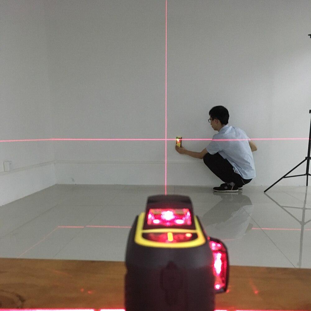FIRECORE 12 линий 3D F93T-XR F93T-XG красный/зеленый лазерный нивелир+ приемник/l-образный кронштейн/3 м штатив-Трипод