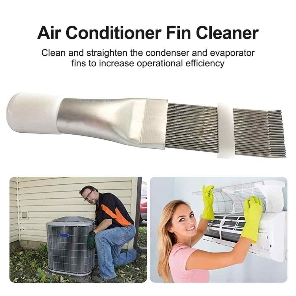 Peine de aleta de refrigeración HVAC, limpiador de aletas de evaporador de condensador de aire acondicionado