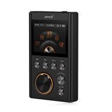 Nowy bezstratny odtwarzacz muzyki HIFI profesjonalny dekoder formatu DSD64 odtwarzacz muzyczny Audiophile Flac Walkman przenośny Mini MP3 128G TF