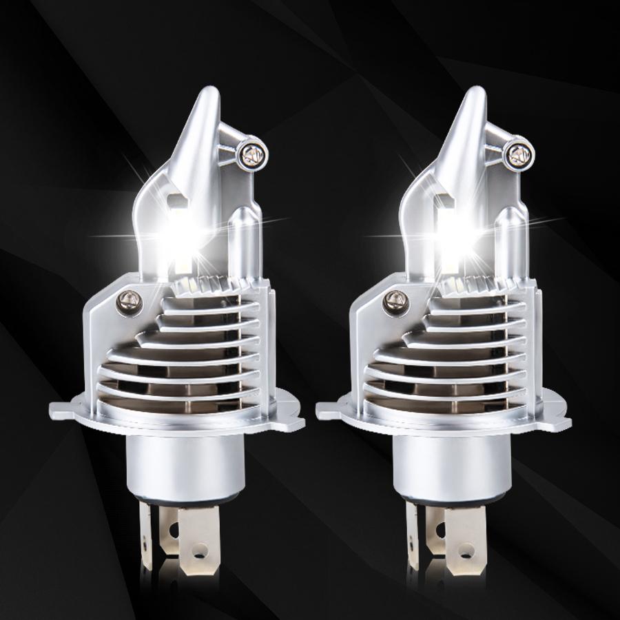 Fighter Foco H4 Led Bulbs Car Headlight 72W 12V 24V 6500K White Led H4 Car headlight Bulb Motorcycle Lamp Led H4 8000LM Auto Car