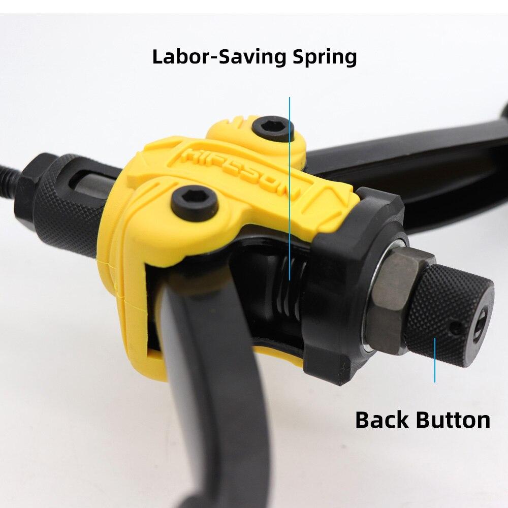 arma manual rebitador para rebitagem rivnut ferramenta