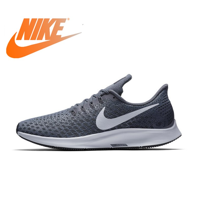 NIKE AIR ZOOM PEGASUS 35 Men Running Shoes Mesh Breathable Stability Support Sport Sneakers Footwear Designer Athletic 2019 New image