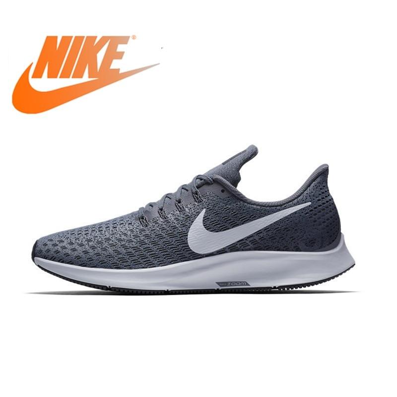 NIKE AIR ZOOM PEGASUS 35 Men Running Shoes Mesh Breathable Stability Support Sport Sneakers Footwear Designer Athletic 2019 New