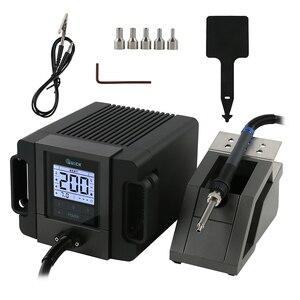 Image 1 - Station de soudure rapide desd de pistolet à Air chaud portatif de Station de reprise de TR1100 200W pour la petite réparation de puce de carte PCB