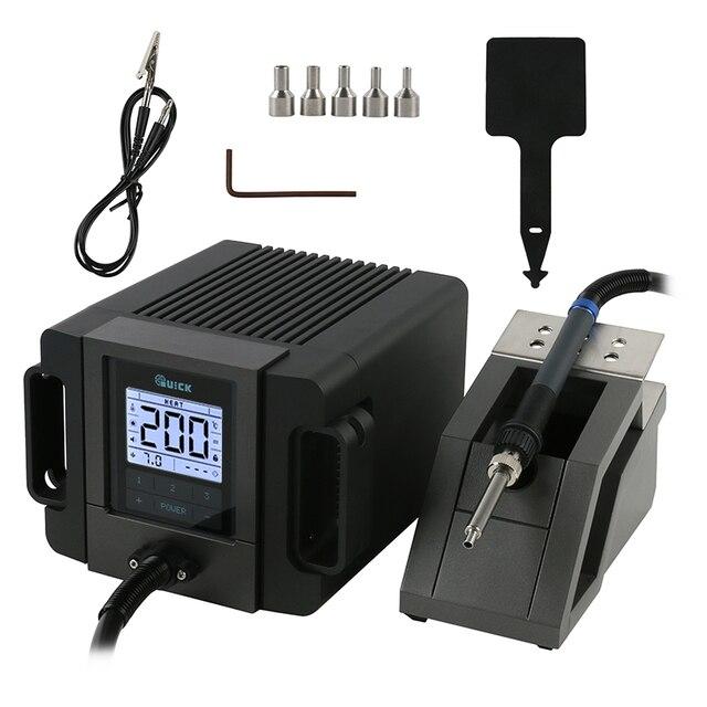 Station de soudure rapide desd de pistolet à Air chaud portatif de Station de reprise de TR1100 200W pour la petite réparation de puce de carte PCB