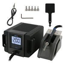 Stazione di saldatura ESD per pistola ad aria calda portatile TR1100 QUICK Rework Station 200W per riparazione di piccoli Chip PCB
