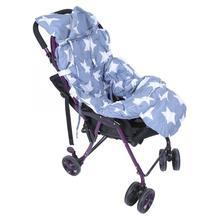 Детская корзина для покупок, подушка с принтом, Портативная Складная Многофункциональная тележка для младенцев, детская корзина для покупок, подушка, коврик для стульев