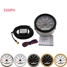 GPS Speedometer Boat Marine-Truck Digital 85mm Red Yacht 35MPH 9-32V Backlight 60km/H