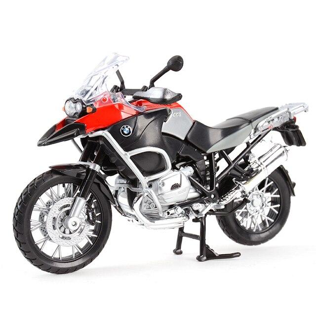 Maisto 1:12 R 1200 GS S 1000 RR ZX 10R Z900RS H2 R CBR600RR Diavel Carbon Monster 696 Diecast Alloy Model motocykla zabawka